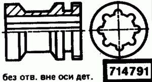 Код классификатора ЕСКД 714791