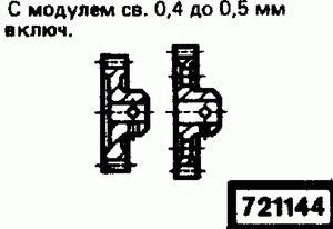 Код классификатора ЕСКД 721144