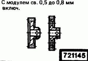 Код классификатора ЕСКД 721145