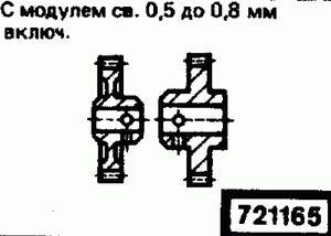 Код классификатора ЕСКД 721165