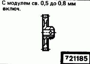 Код классификатора ЕСКД 721185
