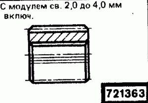 Код классификатора ЕСКД 721363