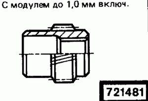 Код классификатора ЕСКД 721481