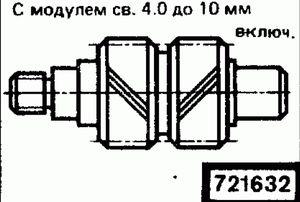 Код классификатора ЕСКД 721632