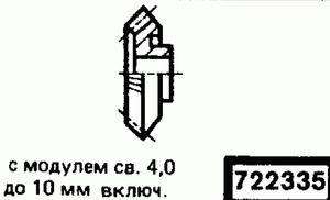 Код классификатора ЕСКД 722335
