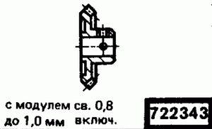 Код классификатора ЕСКД 722343
