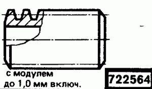 Код классификатора ЕСКД 722564