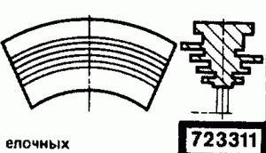 Код классификатора ЕСКД 723311