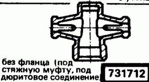 Код классификатора ЕСКД 731712