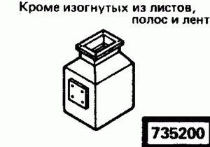 Код классификатора ЕСКД 7352