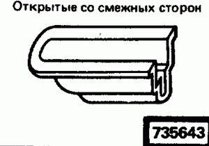 Код классификатора ЕСКД 735643