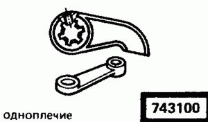 Код классификатора ЕСКД 7431