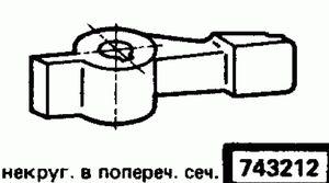 Код классификатора ЕСКД 743212