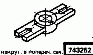 Код классификатора ЕСКД 743252