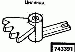 Код классификатора ЕСКД 743391