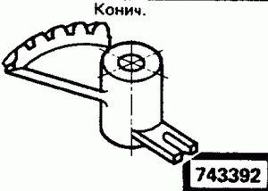 Код классификатора ЕСКД 743392