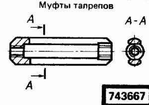 Код классификатора ЕСКД 743667