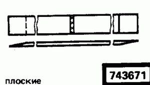 Код классификатора ЕСКД 743671