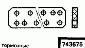 Код классификатора ЕСКД 743675