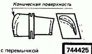 Код классификатора ЕСКД 744425