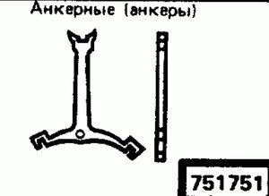 Код классификатора ЕСКД 751751