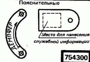 Код классификатора ЕСКД 7543