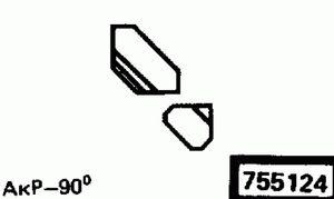 Код классификатора ЕСКД 755124