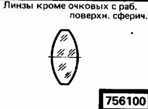 Код классификатора ЕСКД 7561