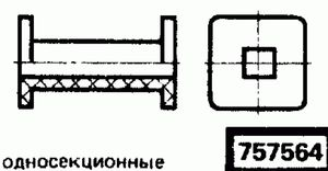 Код классификатора ЕСКД 757564