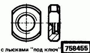 Код классификатора ЕСКД 758455