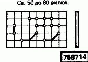 Код классификатора ЕСКД 758714