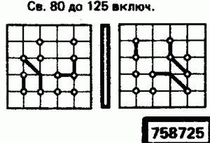 Код классификатора ЕСКД 758725