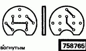 Код классификатора ЕСКД 758765