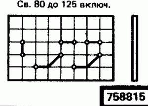 Код классификатора ЕСКД 758815