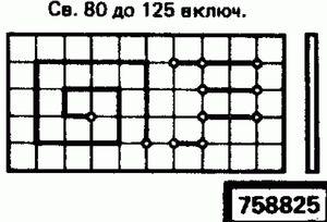 Код классификатора ЕСКД 758825