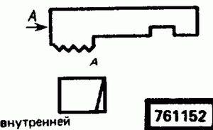Код классификатора ЕСКД 761152