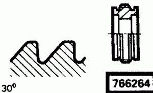 Код классификатора ЕСКД 766264